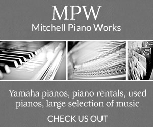 Mitchell Piano Works - Yamaha Pianos, Piano Rentals, Used Pianos, Large Selection of Music - Check Us Out