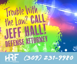Hall, Rustom & Fritz - Display Advertisement - Trouble with the Law? Call Jeff Hall! Defense Attorney