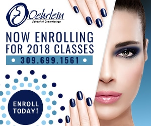 Oehrlein School of Cosmetology - Display Advertisement - Now Enrolling for 2018 Classes