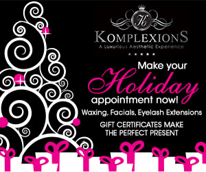 Komplexions Display Ad - Make your Holiday Appointment Now!