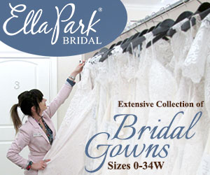 Display Advertisement - Ella Park Bridal - Extensive Collection of Bridal Gowns